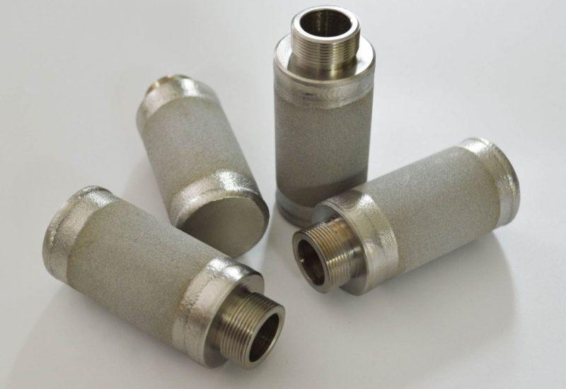 sintered filter cartridges
